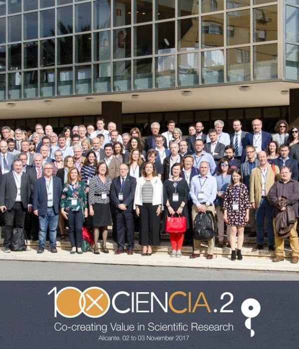 Group picture 100xCiencia.2